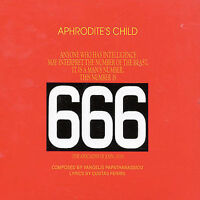 APHRODITE'S CHILD 666 2CD BRAND NEW Vangelis 6 6 6 Fatpack
