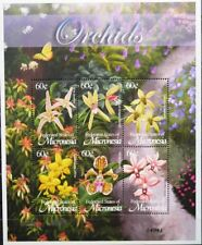 MICRONESIA MIKRONESIEN 2002 1373-78 Block 117 Orchideen Orchids Blumen Flowers**