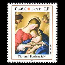 France 2002 - Red Cross Charity Stamp Art - Sc B706 MNH