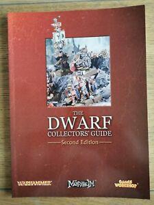 DWARFS COLLECTORS' GUIDE Softback Dwarf Armies second edition.