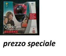LOGITECH QUICK CAM COMMUNICATE STX,COLORE NERO,WEB CAM CON MICROFONO INTEGRATO