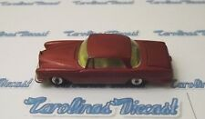 Vintage Corgi Toys Car #253 Mercedes-Benz 220 SE Coupe with suitcase in trunk