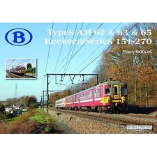 Nicolas Collection 978-2-930748-53-5 BUCH SNCB Type AM 62&63&65 S151-270 Neu+OVP