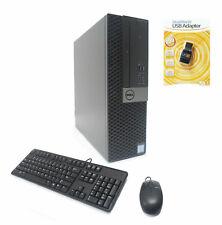 Dell OptiPlex 7050 SFF 4-Core i7-7700 3.6/4.2GHz 16GB 256GB NVMe SSD 2TB AMD 4GB