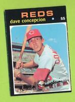 1971 Topps Rookie - Dave Concepcion (#14) Cincinnati Reds *