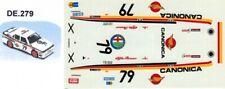 decal 1/43 ALFA ROMEO 75 EVO CANONICA WTCC 1988  TRON DE279