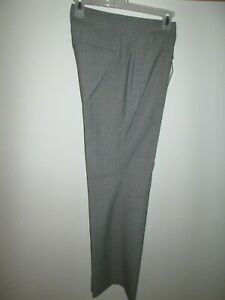 "EXPRESS Grey Herringbone ""Editor Series"" Slacks/Pants Size 4 R NWT"