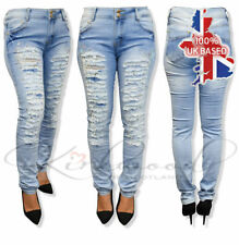 Unbranded Ripped, Frayed Slim, Skinny Jeans for Women