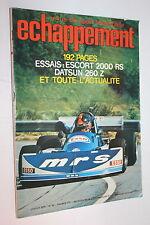 ECHAPPEMENT 93-1976-Ford Escort 2000RS-Datsun 260Z-Acropole-Andruet-Mont-Blanc