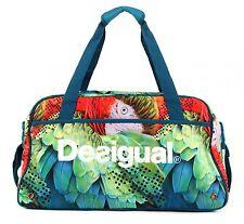 Desigual Big Gym Bag W Tasche Umhängetasche Sporttasche Damen Azul Agata Blau