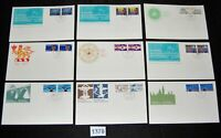 Canada collection lot of 27 Canada Post Official FDC 1970s  [FD1378]