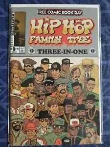 Hip Hop Family Tree Three-In-One Fantagraphics 2015 FCBD NM