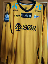 Maglia calcio Ik Start 2011 Umbro M jersey home vintage Norway Eliteserien rare