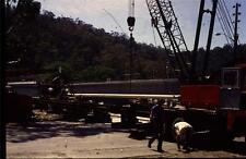 35mm Colour Slide- Woronora Bridge under Construction 17  NSW , Australia 1970's