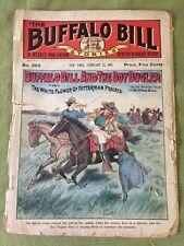 "BUFFALO BILL STORIES 5c.  NO. 302 ""Buffalo Bill and the Boy Bugler"" FEB 23 ,1907"