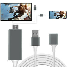 1080P Hdmi Phone To Tv Adapter Converter Hdtv Mirroring Cable For Android / iOs