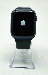 Apple Watch Series 6 44mm 32GB Blue Aluminum Case Black Sport Band [GPS - Wi-Fi]