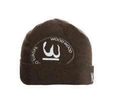 WOOD WOOD Logo Beanie - One Size - 100% Merino Wool - RRP £55 - Excellent - BNWT