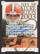 2003 SP SIGNATURE EDITION FOOTBALL AUTOGRAPH TIM COUCH RC AUTO (2038)