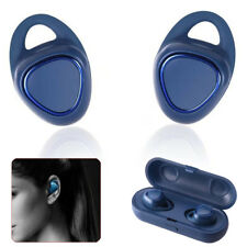 True Wireless Earbuds Stereo Bluetooth Headphones with Charging Case Secure Fit