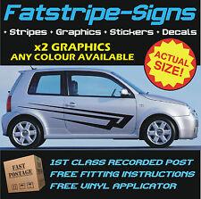 VOLKSWAGEN LUPO GRAPHICS CAR VINYL STRIPES DECALS STICKERS VW GT GTI 1.4 1.6 2.0