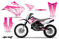 Dirt Bike Graphics Kit MX Decal Wrap For Yamaha TTR125LE 2008-2018 STARLETT PINK