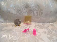 Vintage Mattel Barbie Reg Pink Ot Open Toe Mule Dress Shoes Philippines Mint