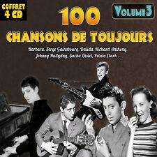 Coffret 4 CD 100 chansons de toujours - Vol. 3