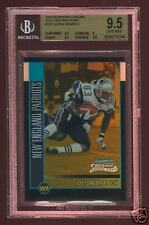 BGS 9.5 DEION BRANCH 2002 BOWMAN CHROME GOLD RC REF /50