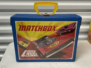 VINTAGE 1971 MATCHBOX CARRY CASE - LESNEY PRODUCTS - NO CARS
