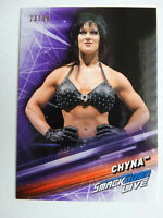 2019 Topps WWE Smackdown #69 Chyna Purple Parallel Wrestling Card 23/99