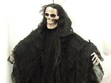 "Hanging Skeleton Decoration ~ Halloween ~ 36"" ~  Black Grim Reaper"