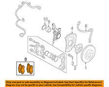 MITSUBISHI OEM 02-07 Lancer Brake-Front Pads MZ690563