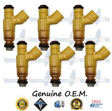 Genuine OEM Dodge Chrysler 6x Fuel Injectors 0280156133 04591899AA 2.7L Flex