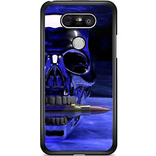 LG G6 Case Phone Cover Skull Blue Cool Y00117