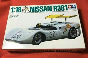 Nissan R381 Tamiya 1/18 Scale Car  Kit