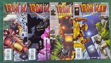 Iron Man Legacy of Doom 2008 #1-4 Complete Series Set nm bagged