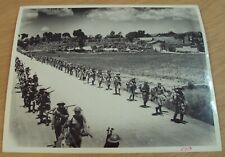 """Vtg 1940's Wwii 'Original Photo Print' """"Nationalist Chinese Soldiers""""~China~"""