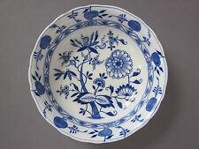 BWM & Co. MEISSEN Blue & White Onion Pattern Fruit Bowl / Serving / Decorative