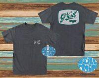 New O'Neill Jerry Jeff  Pocket Tee Classic Heather Black T-Shirt