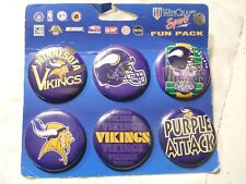 Vintage Button NFL Minnesota Vikings 1.75 inch wide fun collectors item