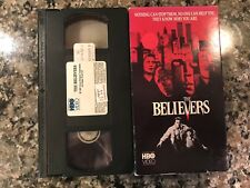 The Believers Vhs! 1987 Slasher! Also See The Exorcist & The Entity