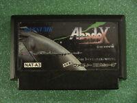 Abadox (Nintendo Famicom FC NES, 1989) Japan Import