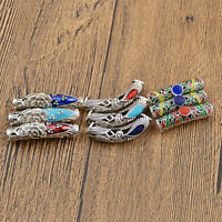 DIY Plating Alloy Dreadlock Hair Beads Rings Hair Braid Clips Jewelry Craft 3Pcs