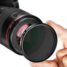 Neewer Slim 52mm ND 1000 Filter + Microfiber Lens Cleaning Cloth