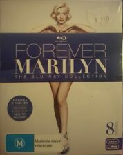 *New & Sealed* Forever Marilyn - The Blu Ray Collection - 8 Movie Boxset