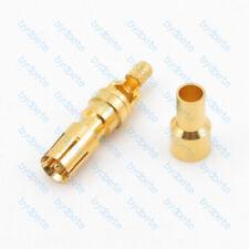 DB male Pin D-SUB DSUB Signal Connector crimp for RG174 RG316 Coax cable 50ohm