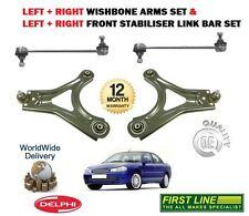 für Ford Mondeo 1993-2000 NEU 2x Querlenker Arm Set + 2x Stabilisator Verbindung