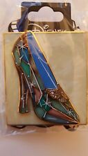 Disney DSF Pins Cinderella Glass Slipper Stained Glass Butterfly Shoe Pin LE400