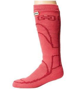 NWT Hunter Original Boot Slipper Sock Pink S/M